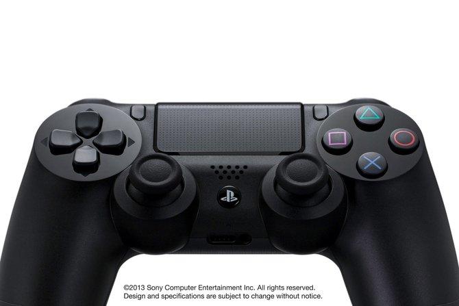Der neue PS4-Controller mit berührungsempfindlicher Oberfläche.