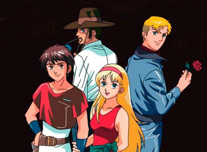 In den 90er-Jahren versorgen vor allem die Fernsehsender ZDF und Tele 5 Zuseher mit Anime-Serien ...