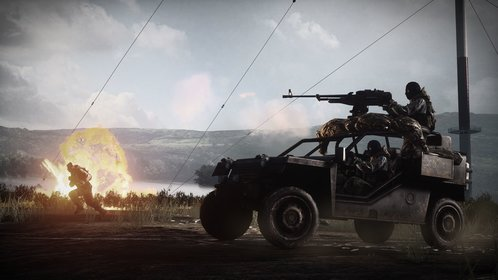 Wegen den großen Karten sind Fahrzeuge in Battlefield 3 nützliche Transportmittel.
