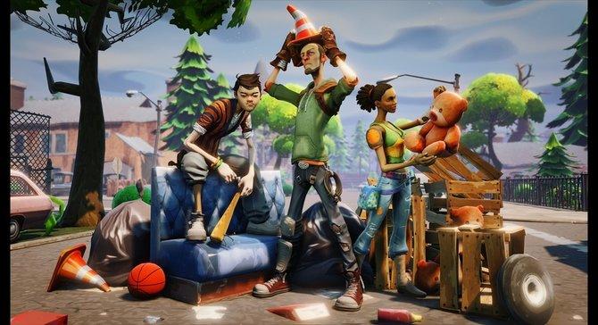 """Fortnite ist das erste Spiel, welches die """"Unreal Engine 4""""-Grafiktechnik nutzt."""