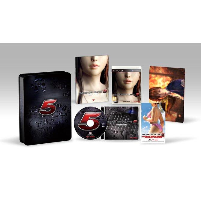Die Collectors Edition zu Dead or Alive 5 in ihrer ganzen Pracht.