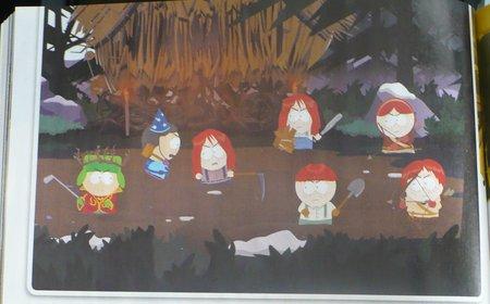 Das erste Bildmaterial zu South Park: The Game zeigt, dass sich der Grafik-Stil an der Optik der Fernsehserie orientiert.