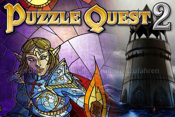 Puzzle Quest 2, der Nachfolger des Puzzle-Rollenspiel-Urvaters.