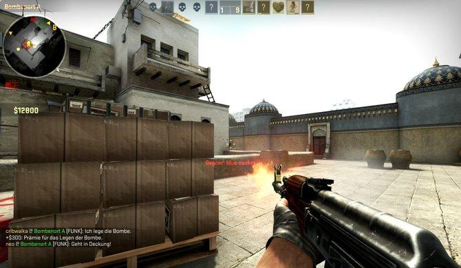 In Global Offensive müsst ihr noch besser zielen, als in früheren Teilen von Counter-Strike. Übrigens schießt ihr hier immer aus der Hüfte. Über Kimme und Korn zielen überlasst ihr lieber Call of Duty und Konsorten.