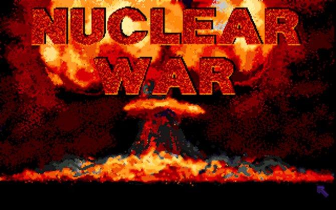 Nuclear War - schon das Titelbild strahlt Wärme aus.