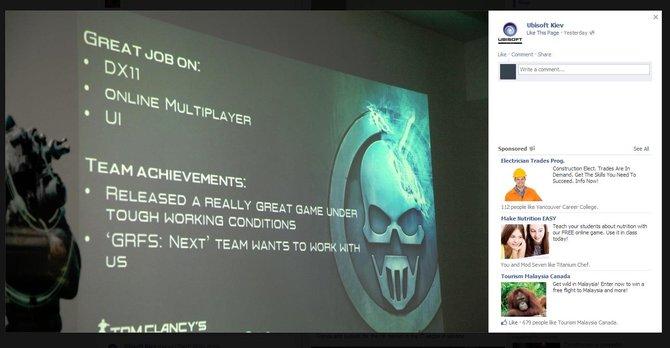Durch einer Präsentation scheint der Nachfolger zu Ghost Recon Future Soldier endgültig bestätigt zu sein.