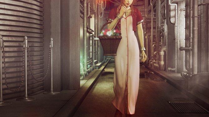 Aerith ist ein Blümenmädchen aus Midgard in Final Fantasy 7.