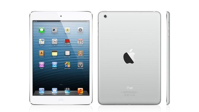 Beim iPad mini schrumpft der Bildschrim von 9,7 auf 7,9 Zoll.