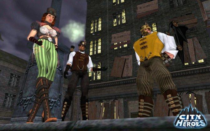 In City of Heroes Freedom dürft ihr euch allerlei illustre Superhelden oder ...