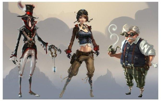 Chronovolt gefällt mit sympathischem Steampunk-Design.
