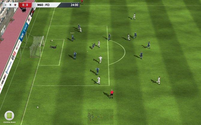 Im Fussball Manager 13 dürft ihr euch die Spiele wieder in einer 3D-Ansicht anschauen.