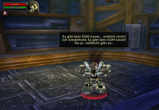 Hier treffen das geheime Kuh-Level von Diablo und ...