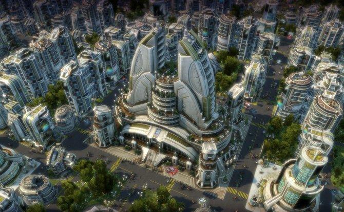 Der Aufbaustrategie-Hit Anno 2070 ist eines der schönsten Genrevertreter.