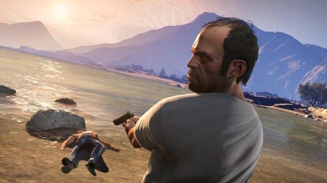 Da hatte Trevor, einer der Hauptcharaktere, wohl einen nervösen Zeigefinger. (GTA 5)