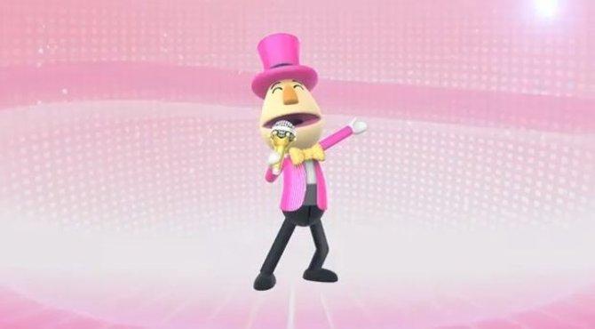 Partypaule ist ein bisschen durchgedreht, aber harmlos. Er mimt Gastgeber und Entertainer der Wii Party U in Personalunion.