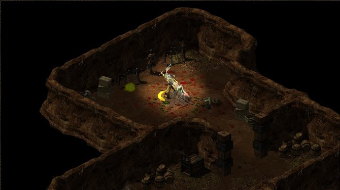 Hellbreed bietet für ein Browser-Spiel eine gute Grafik. Auch ...