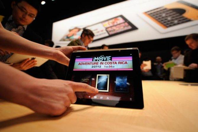 Apple stellte das neue iPad auf einer Präsentation vor.