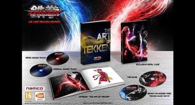 Die Sammleredition Zu Tekken Tag Tournament 2 in ihrer vollen Pracht.