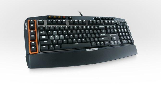 Die G710+ ist Logitechs erste Spieletastatur mit mechanischen Tasten