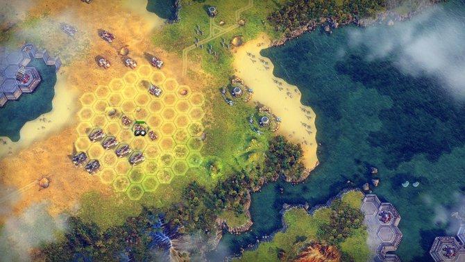 Das Hexfeld ist zurück. (Battle Worlds - Kronos).
