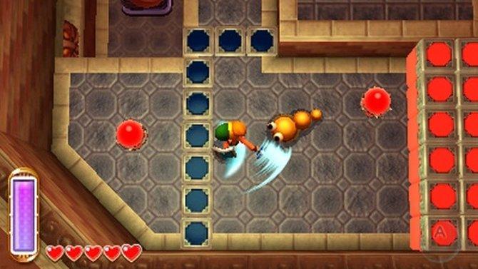 Nintendo präsentiert The Legend of Zelda - A Link Between Worlds wieder aus der Vogelperspektive.