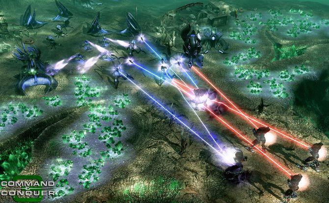 Скриншоты к игре Command & Conquer 3: Tiberium Wars (Xbox 360) .