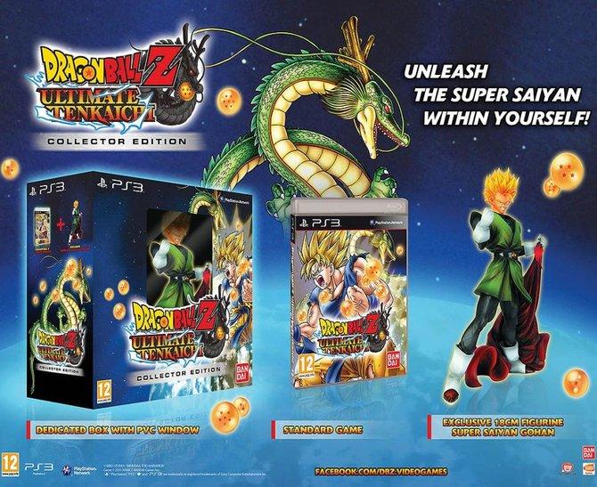 Namco Bandai beschert euch eine Sammler-Edition zu Dragonball ...