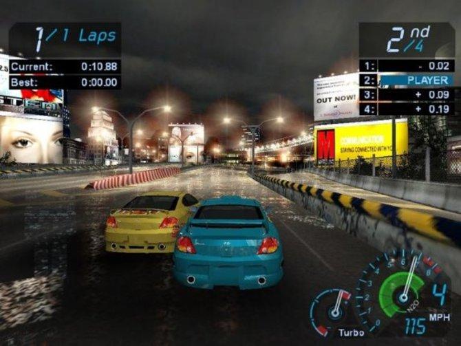 """Mit """"Need for Speed Underground"""" wurde dem Spiel ..."""