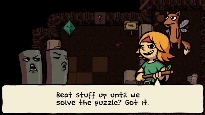 Ittle hat eine ziemlich handfeste Einstellung zum Abenteuerhandwerk.