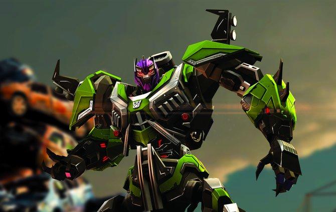 Mismatch trägt seinen Namen vermutlich wegen der eher unglücklichen Farbwahl von Helm und Rüstung.