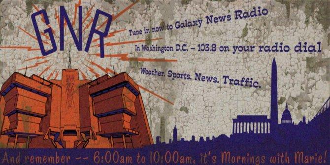Die Geschichte dreht sich um den wichtigsten Radiosender im Spiel. Galaxy News Radio.