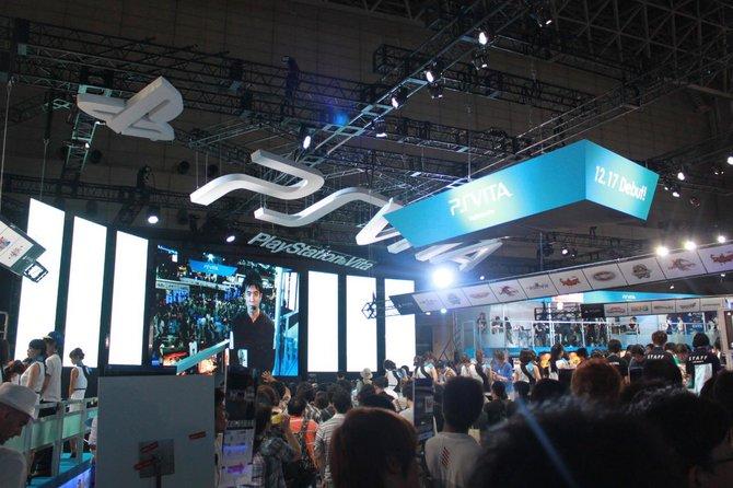 Die größte Fläche bei Sony übernimmt das neue Handheld ...
