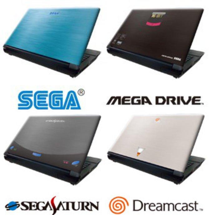 Sega bietet dieses Notebook zurzeit in Japan im Stil seiner alten Konsolen an.