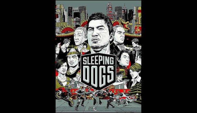 So sieht das so genannte Key Artwork zum kommenden Actionspiel Sleeping Dogs aus.