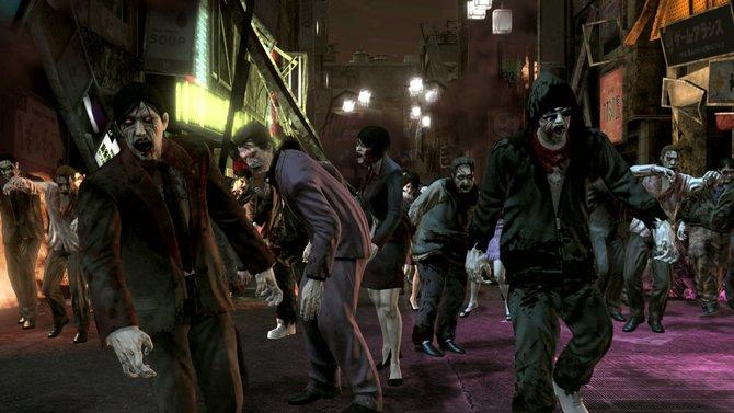 Zombies überrennen Tokio, es herrscht Chaos.