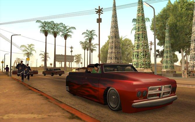 Grand Theft Auto gehört zu den Vorzeigespielen in Sachen offene Welt. In der Serie bietet San Andreas das größte Areal.