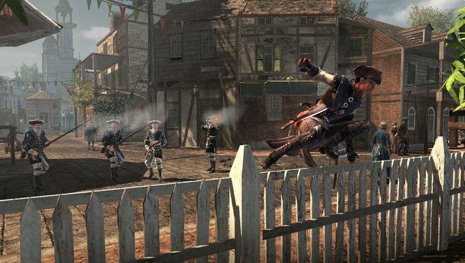 Ubisoft stellte auf der E3 in Los Angeles auch Assassin's Creed 3 - Liberation für die PS Vita ...