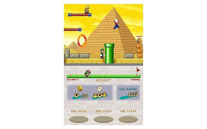 Auf dem Nintendo DS stoßen wir auf alte und lieb gewonnen Helden. ...