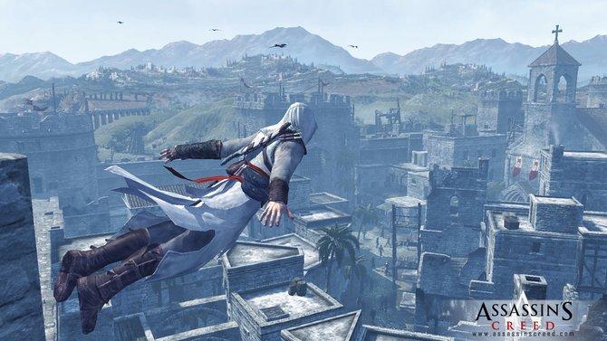 Zeiten, Umgebungen und Waffen ändern sich: Während Altair im ersten Teil (Bild 1) hauptsächlich zu Wurfmessern und Schwert greift, nutzt Ezio in den drei darauffolgenden ...