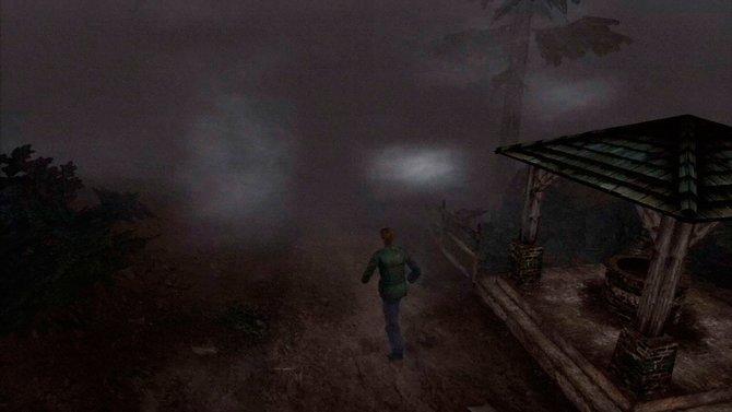 Der Vergleich zum alten Silent Hill 2 auf PS2 (Mitte) zeigt, dass die Optik ...