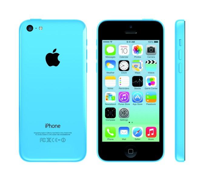 Das iPhone 5C enthält im Wesentlichen die gleiche Technik wie das ältere iPhone 5.