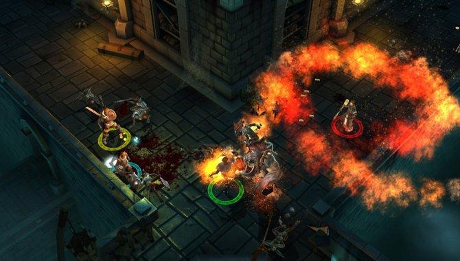 Dungeon Hunter Alliance bietet euch die Möglichkeit, mit bis zu vier Spielern online gegen fiese Höllengegner anzutreten.