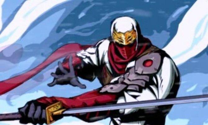 Breite Schultern, scharfes Schwert - so präsentiert sich der Ninja von Welt 2011!