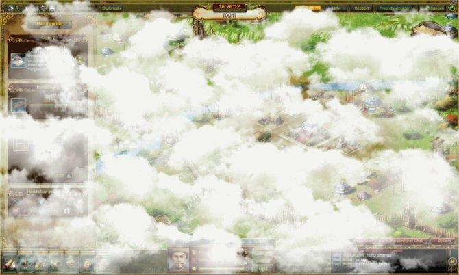 Wenn die Stadt eine neue Stufe erreicht, bedeckt sich der Himmel mit Wolken...
