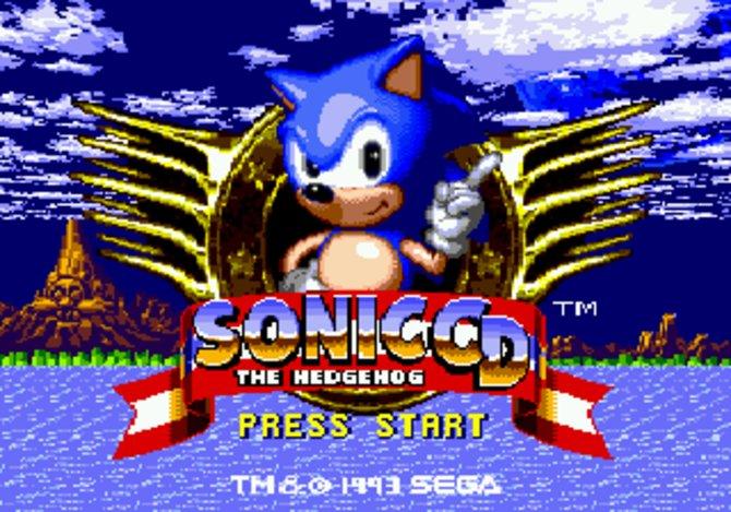 Sonic wie wir ihn kennen - grinsen und mit dem Finger wedelnd...