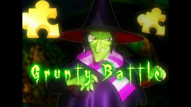 Auf geht's in den Kampf gegen die olle Hexe.