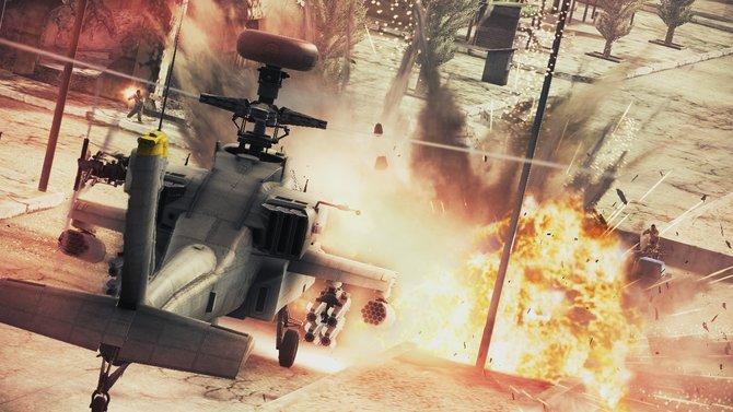 Ace Combat setzt diesmal auf Vielfalt: Neben den serientypischen Jets ...
