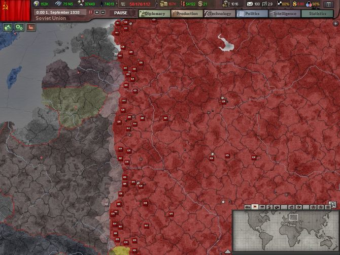 Скриншот 7 Hearts of Iron III с накопительными скидками.