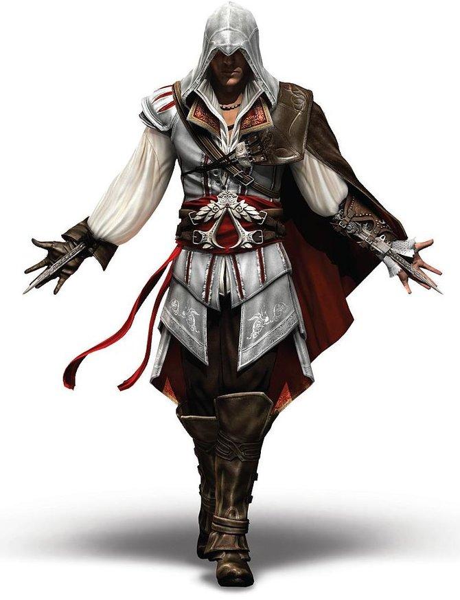 Ezios Geschichte erstreckt sich über 30 Jahre. In dieser Zeit ändert sich einiges an seinem Aussehen. ...