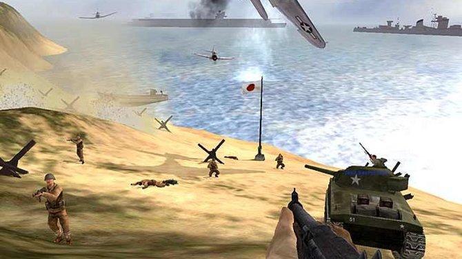 Battlefield 1942 bringt euch auf Schlachtfelder in Europa und im Pazifik.